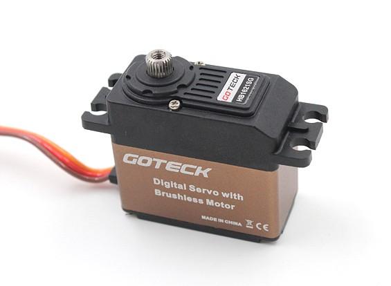 Goteck HB1621S HV Brushless digital MG alto par ETS Servo 19 kg / 0.07sec / 53g