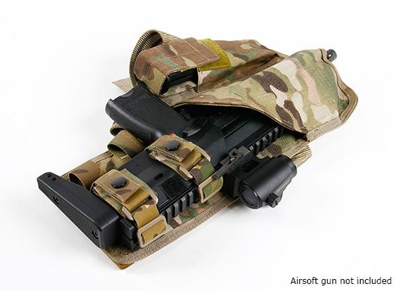 SWAT MP7 Pierna Hostler (multicámara)