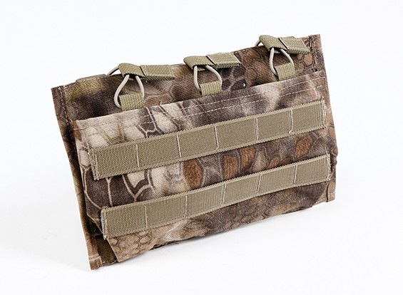 SWAT Open Top 7,62 Molle Triple Revista de la bolsa (Kryptek Highlander)