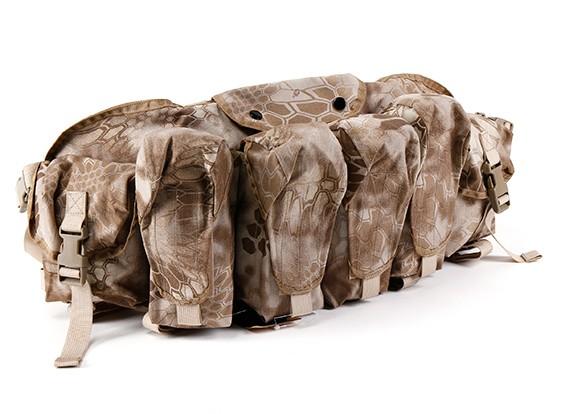 SWAT Cordura AK frontal del pecho bolsas (Kryptek Nomad)
