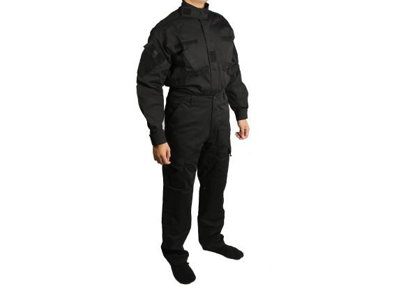 Emerson Ejército BDU Set (Negro, tamaño de S)