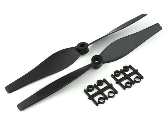 Gemfan bidireccional de 8 pulgadas 3D de carbono reforzada con hélices conjunto CW / CCW Multirotor 2 / PC por bolsa