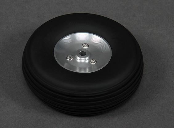 Turnigy 68 mm Llanta de aleación / neumáticos de caucho