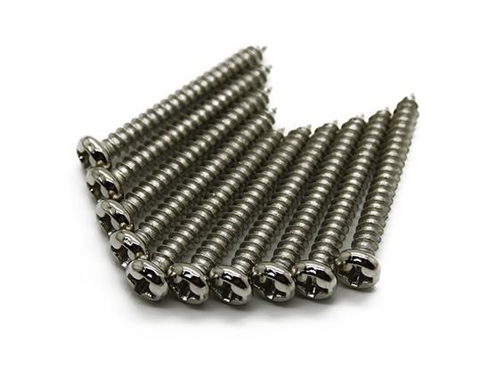 Autoperforantes Tornillo M3x25mm Phillip tornillo (100pcs)