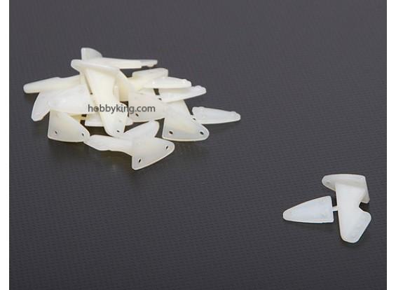 Los cuernos de control 20x28.5mm (10pcs / set)