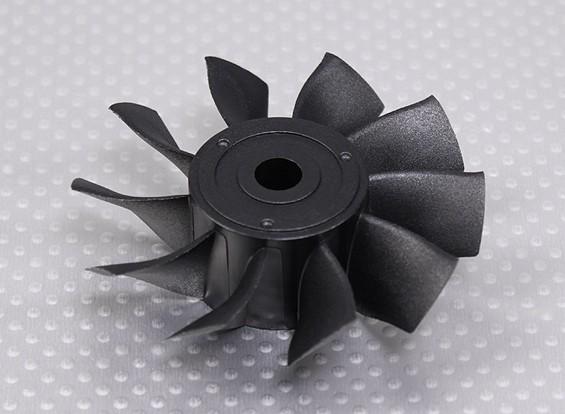Rotor de reemplazo de la hoja 10 de alto rendimiento de 70 mm Unidad de EDF conductos del ventilador