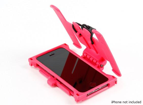 caso FMA móvil con plataforma MOLLE para el iPhone 5 / 5S (rosa)