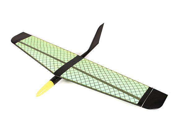 HobbyKing ™ Zulu Pendiente / eléctrico ala mixta 1400mm (ARF)