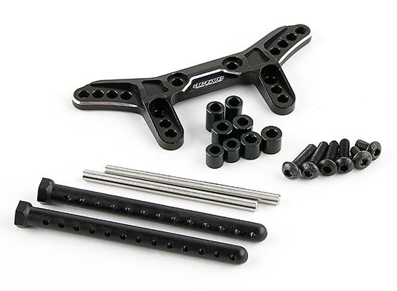 Activo Hobby Tamiya TT-02 Kit de conversión reversible Suspensión - Trasera (Negro)