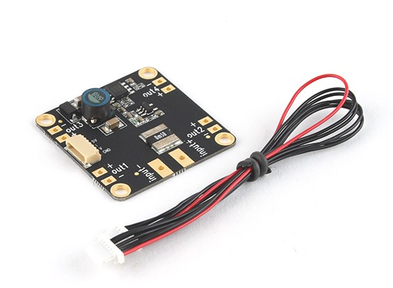 Micro Mega HKPilot APP, BEC y voltios del sensor / AMP montaje de 30,5 mm