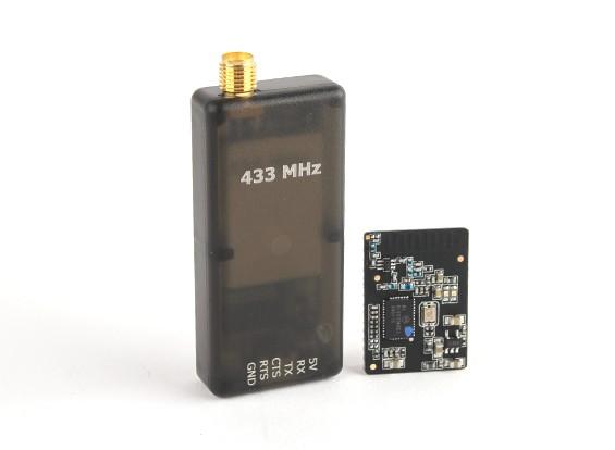 Micro de radio telemetría HKPilot fijado con el PCB integrada Antena 433Mhz