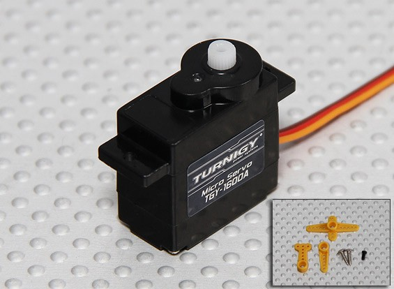Turnigy ™ TGY-1600A Micro Analog Servo 1,2 kg / 0.10sec / 6g