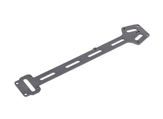 Placa superior de aluminio - H.King Rattler 1/8 4WD Buggy