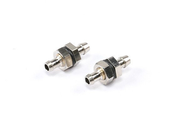 Combustible de latón plateado recoger a L23 D10 de montaje × × D5mm 5g (2 unidades)