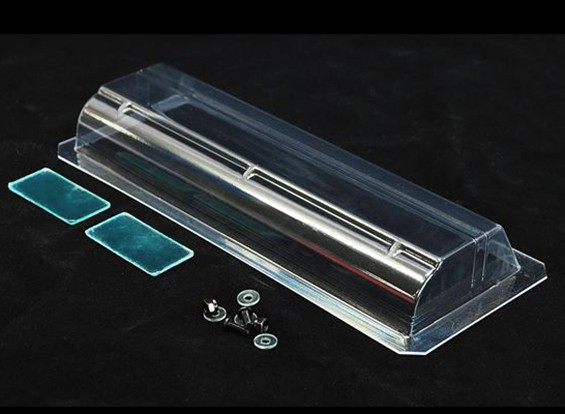 Barrer 1:10 190mm del coche que viaja del ala de 0,8 mm (L)
