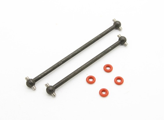 Center Drive Shaft (F / R) - BSR Racing BZ-444 1/10 4WD Buggy Racing