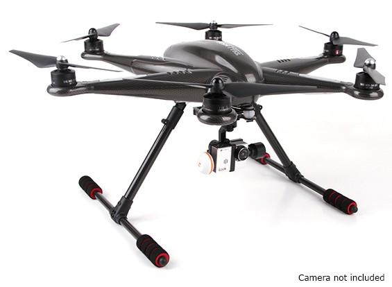 Walkera Tali H500 GPS Hexacopter con 3 ejes cardán y la batería (PNF)