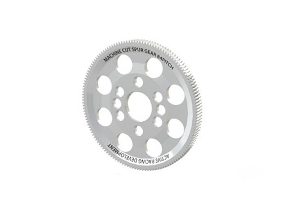 Activo Hobby 134T 84 Pitch CNC Compuesto Spur Gear