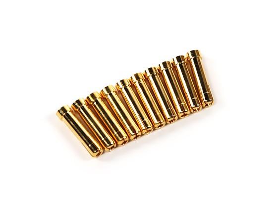 Mujer 4 mm a 5 mm Adaptador de conector macho Polymax - 10pcs por la bolsa