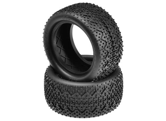 JConcepts 3Ds 1 / 10º neumáticos traseros Buggy - Negro (Mega Soft) Compuesto