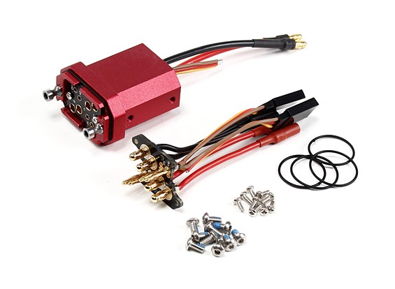 DYS D800 X4 Multirotor de desconexión rápida brazo - Hombre / Mujer Adaptadores (1 Set)