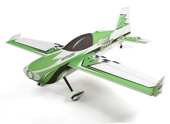 El HobbyKing ™ Avión Edge 540T PPE / Luz madera contrachapada 3D Aerobatic 1430mm (ARF) (Verde)