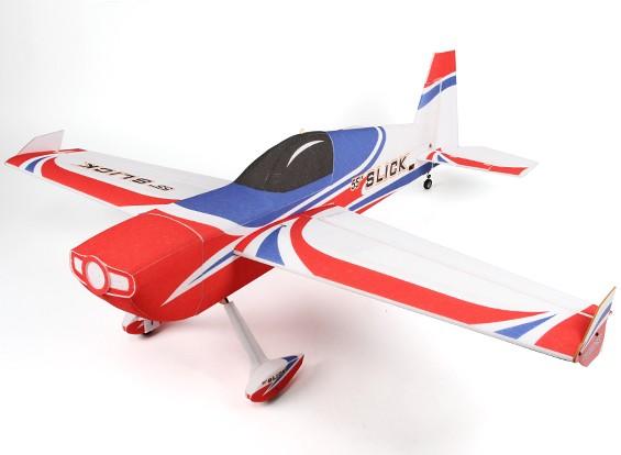 El Slick HobbyKing ™ 55 PPE / Luz Madera contrachapada Avión Acrobático 3D 1430mm (ARF)