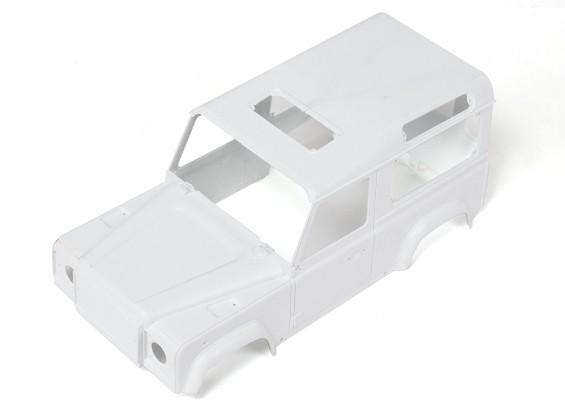 1/10 D90 Escala de plástico rígido Body Kit