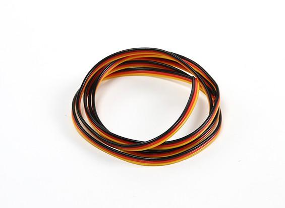 22 AWG alambre servo 1mtr (Rojo / Negro / Amarillo)