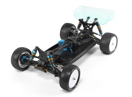 BSR Racing BZ-444 Pro 1/10 4WD Buggy Racing (kit montado-Un)