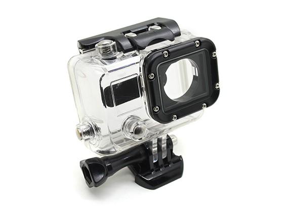 Vivienda de protección esqueleto con la lente para GoPro Hero 3