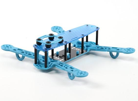 H-250 Clase rey color FPV marco que compite con aviones no tripulados (azul)