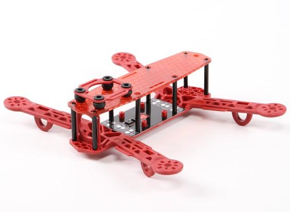 H-250 Clase rey color FPV marco que compite con aviones no tripulados (rojo)