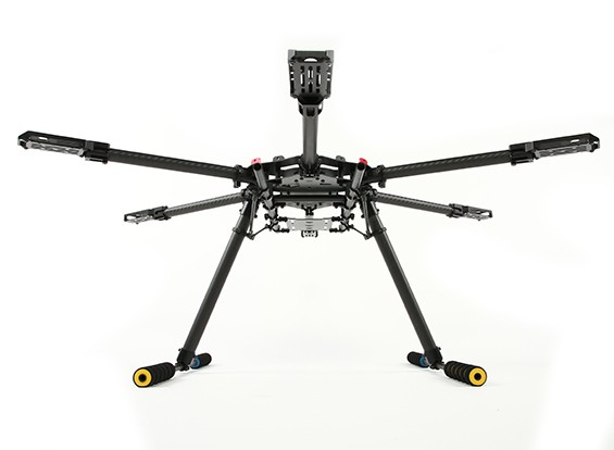 Quanum 680UC Pro Hexa-Helicóptero General del Carbono (Kit)