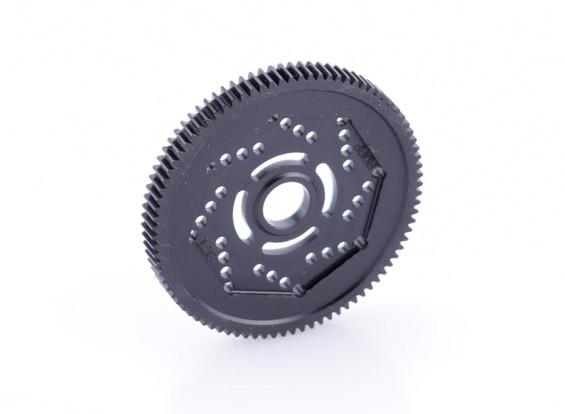 Spur Gear 87T diseño de la revolución 48DPX R2 precisión para Hex Tipo Zapatilla