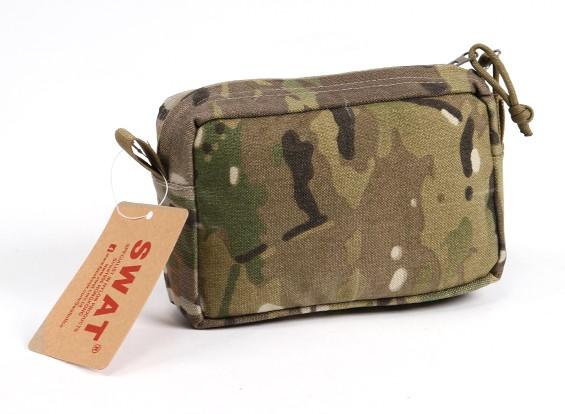 SWAT Molle Horizontal Bolsa de accesorios (GV)