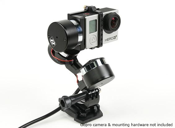 Z-1 del jinete de múltiples funciones de 3 ejes cardán estabilización para GoPro