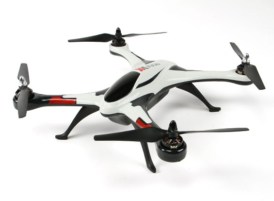 XK bailarín del aire X350 Quad-Copter 3D (enchufe de los EEUU) (Modo 2) (RTF)