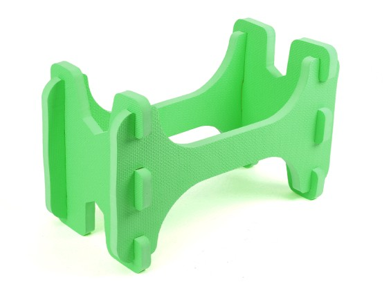 HobbyKing ™ Ligera espuma avión modelo del soporte (verde)