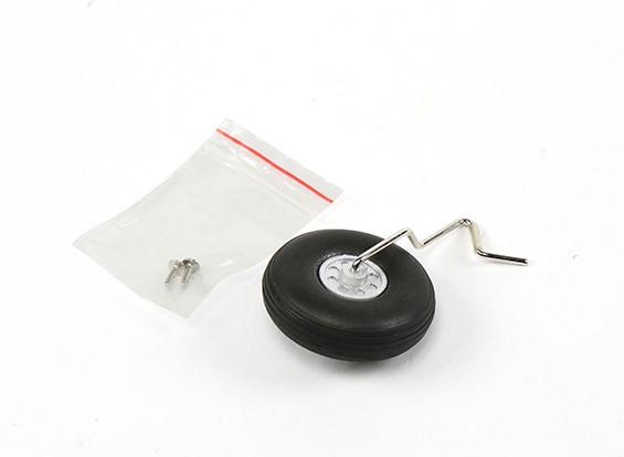 Durafly® ™ Tundra - Montaje de la rueda trasera