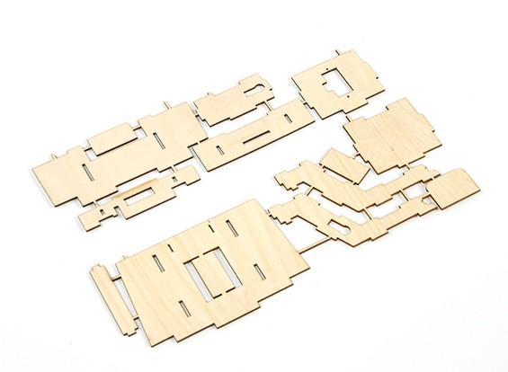 Durafly® ™ Tundra - Bandeja FPV madera contrachapada (Kit)