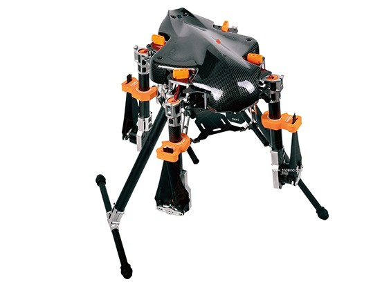 KongCopter FQ700 Pro Quad-Helicóptero (PNF)