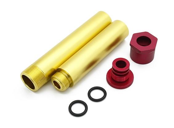Choque conjuntos de tubos - Super jinete SR4 SR5 1/4 Escala RC sin escobillas de motos