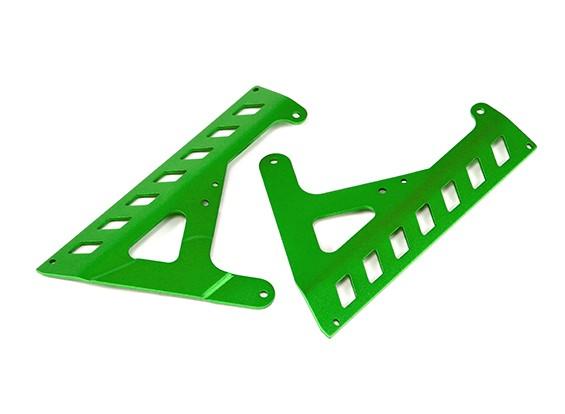 Paneles BatteryFixed (verde) - Super jinete SR4 1/4 Escala RC sin escobillas de la motocicleta