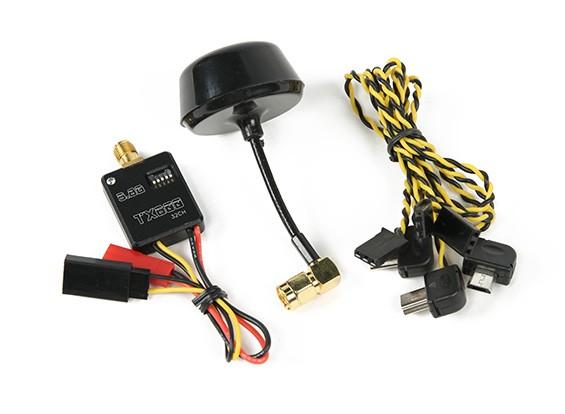 5.8G 32CH 600mW super mini Un transmisor / V FPV para Mobius / leva de la acción / GoPro