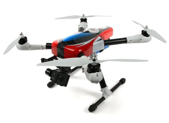 XK-X500 A modo Aircam 2 con la cámara de HD (enchufe de EE.UU.)