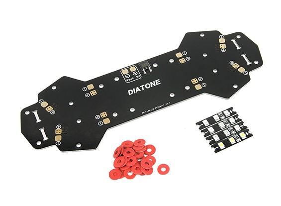 DIATONE cuchilla 250 - Sustitución Impreso placa de distribución