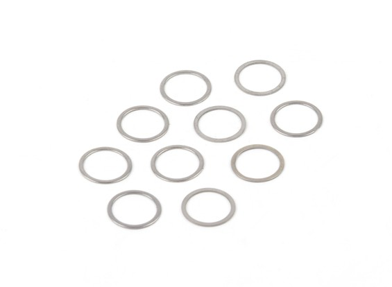 BSR Beserker 1/8 Truggy - Shim 13.2x15.9x0.5mm (10 piezas) 941315