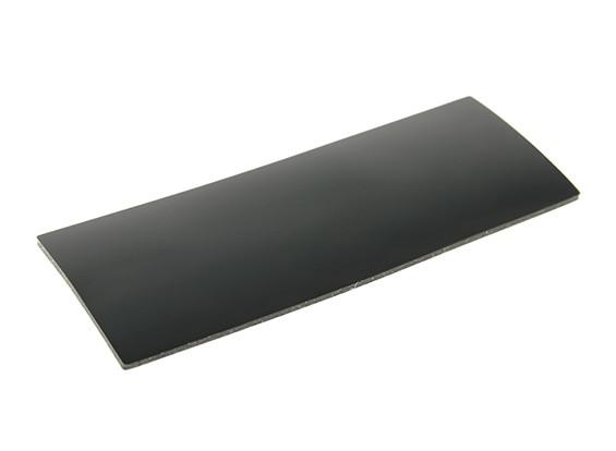 Batería de silicona antideslizante Mat 90x35x1.5mm (Negro)