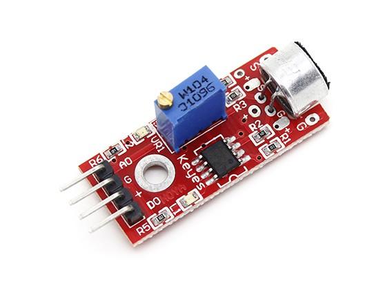 Módulo Sensor de detección de sonido del micrófono Keyes para Arduino